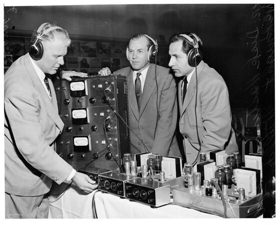 Third dimension sound, 1953