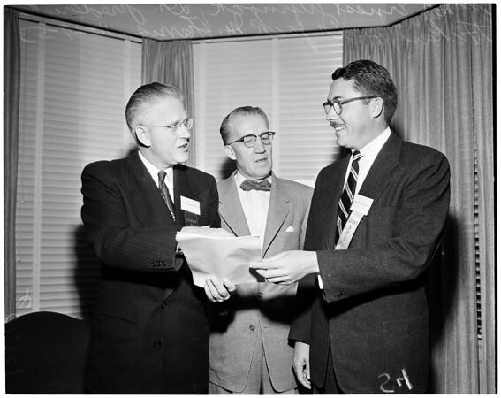 Surgeons convention, 1953