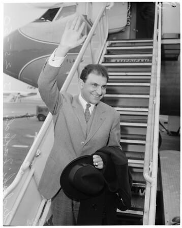 Detail 3 of 3, Iranian Ambassador arrival, 1960