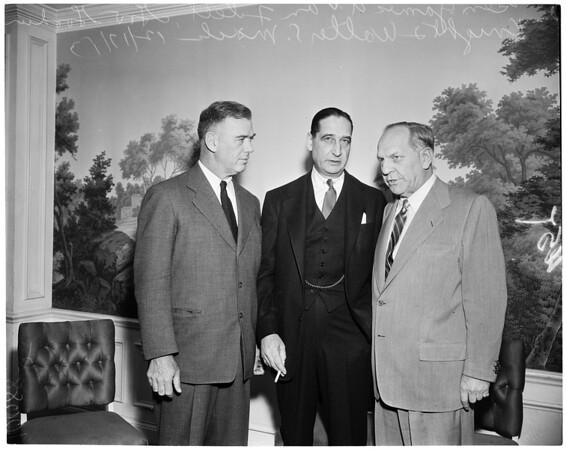 Walter S. Mack luncheon, 1953