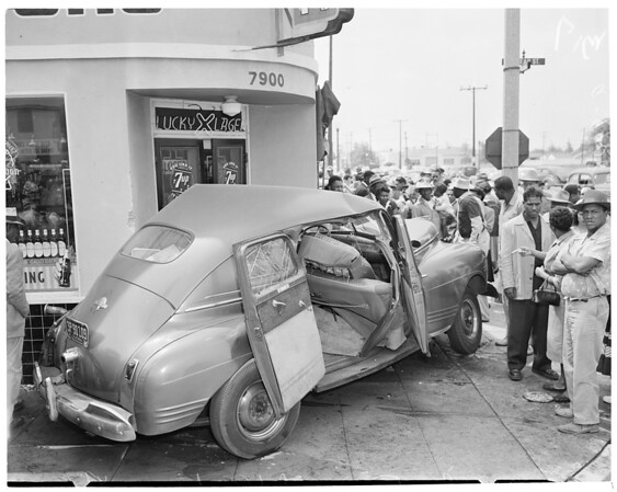 Accident at Nord Street and Culver Avenue, 1954