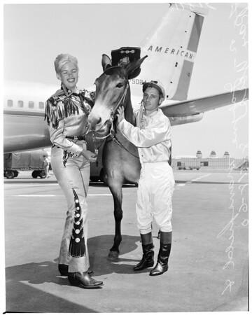 Sheriff's rodeo advance, 1960