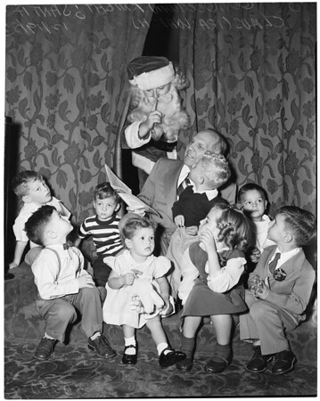 Press Club Christmas party, 1953