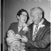 50th wedding anniversary, 1959
