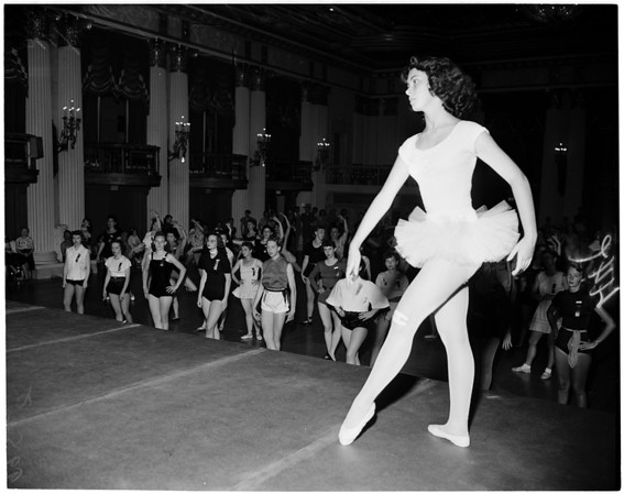 Detail 5 of 6, Dancing teachers convention, 1953
