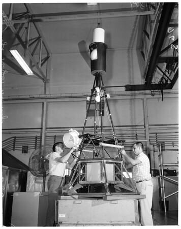 Detail 2 of 2, Spacecraft from Jet Propulsion Laboratory (Ranger Spacecraft), 1960