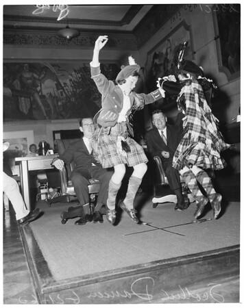 Scottish dancers, 1960