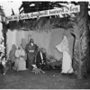 Christmas, Santa Monica nativity, 1953