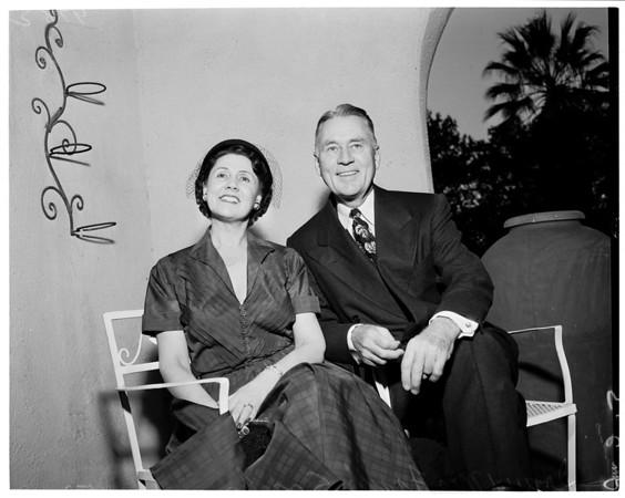 Doctor Frank Sparks, President, Wabash College, 1953