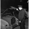 Safe stolen by two men who were arrested at scene by passing police, 1953