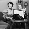 Mrs. Wefso phone party, 1953