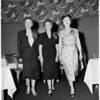 Detail 2 of 4, American Women's Voluntary Services luncheon, 1955