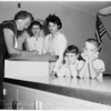 School registration in Van Nuys, 1958