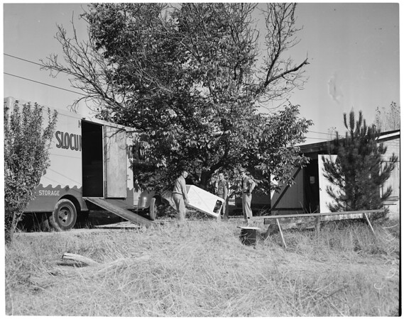 Detail 3 of 4, Dulinow eviction (6300 Shoup, Canoga Park), 1953