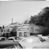 Detail 9 of 19, Fire at Pico Boulevard and Broadway, 1954