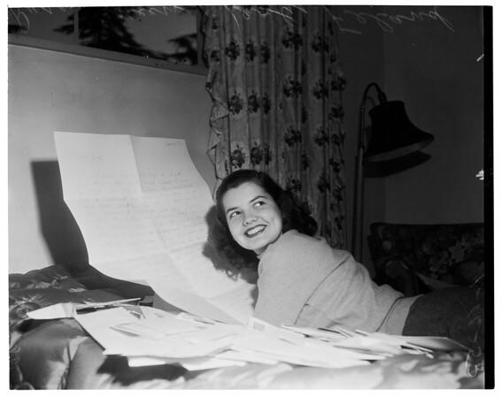 Queen's mail, 1953