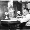 Rare old clocks, 1953