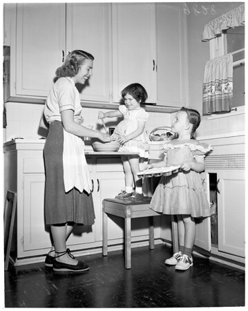 Blind children, 1953