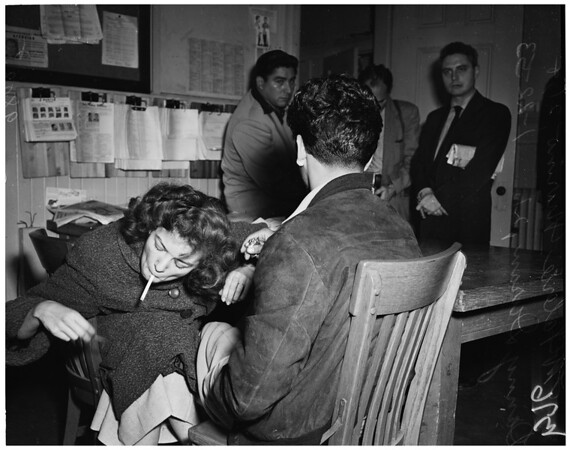 Narcotics arrest (Central jail), 1953
