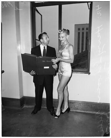 Miss Universe suit, 1953