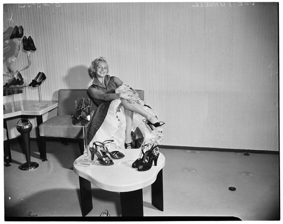 """Miss New in Shoes"", 1953"