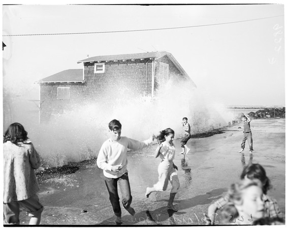 Surfside waves, 1953