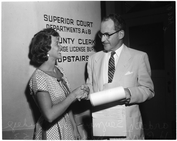 New judge (Pasadena), 1953