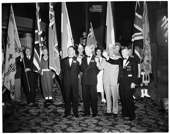Canadian Military ball (Palladium), 1953