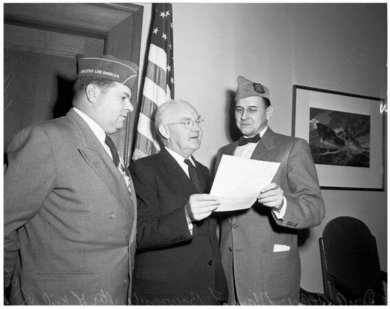 Veterans of Foreign Wars Week proclamation, 1953