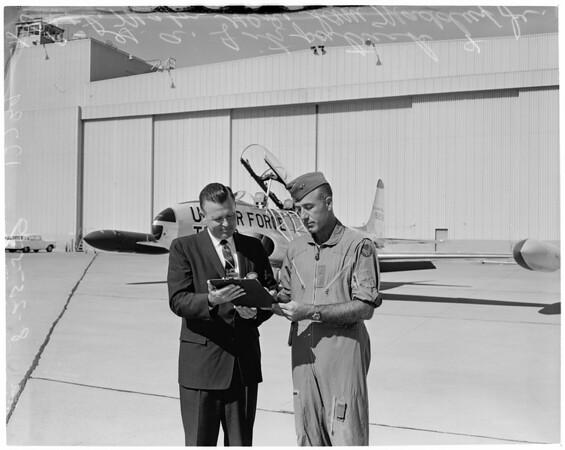 T-33 jet trainer (Lockheed), 1959