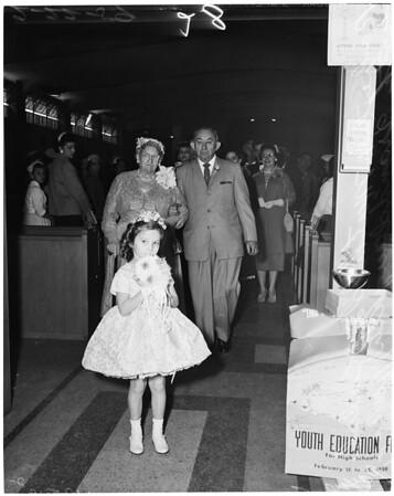 Kulik golden wedding, 1959