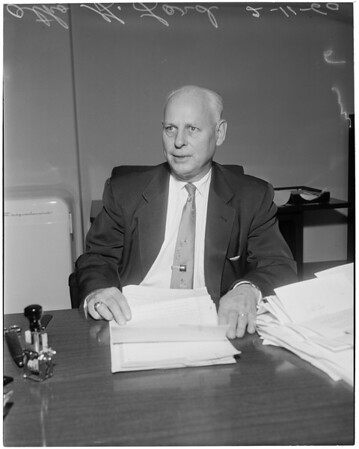 New Probate Commissioner, 1960