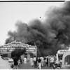Detail 11 of 19, Fire at Pico Boulevard and Broadway, 1954