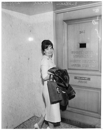 Child custody contempt, 1960