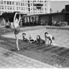 Sadler's Wells Ballet -- at Ambassador pool, 1953