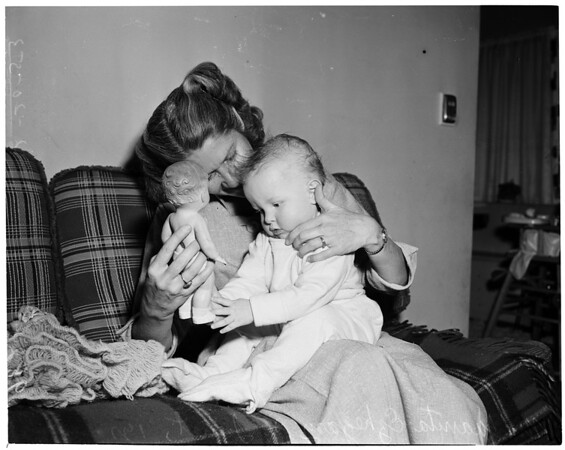 Adopted baby, 1953