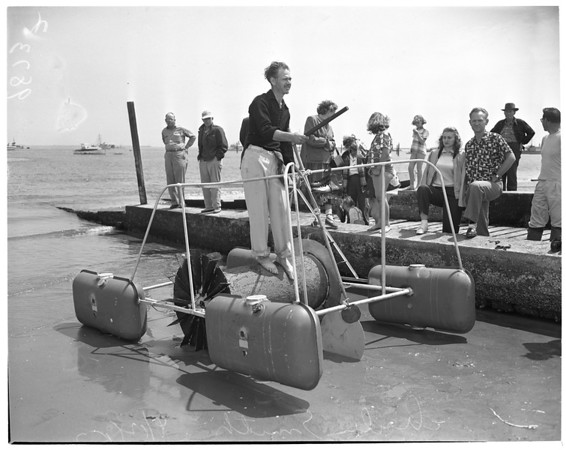 Nautical treadmill, 1953