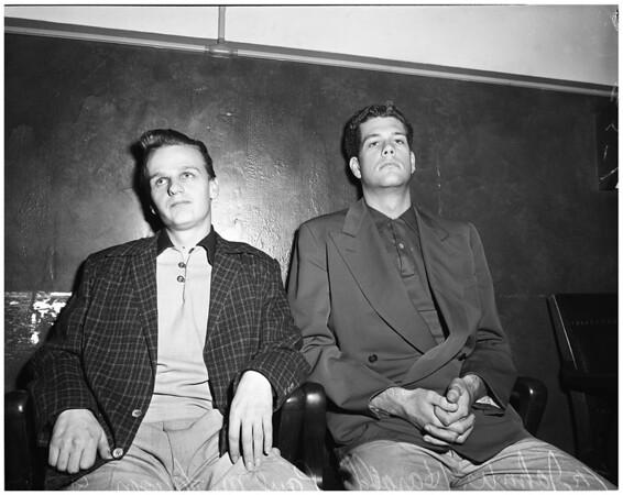 Narcotics trial, 1953