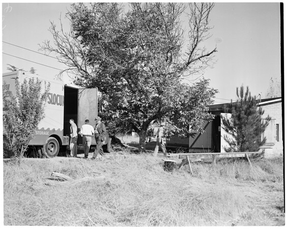 Detail 4 of 4, Dulinow eviction (6300 Shoup, Canoga Park), 1953