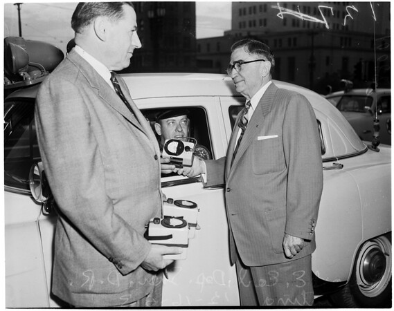 New Ion chambers for Sheriff patrol cars, 1953
