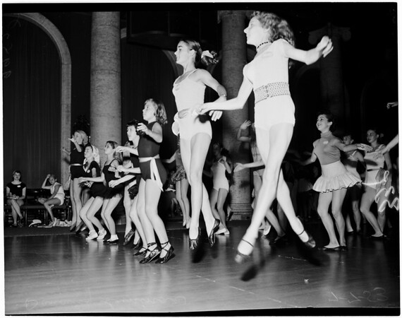 Detail 4 of 6, Dancing teachers convention, 1953