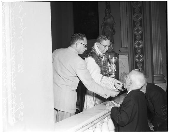 Holy name breakfast, 1953