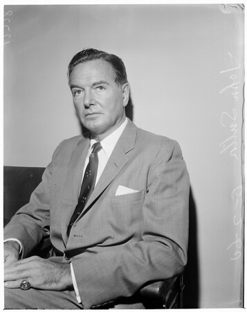 John Sutton (actor obtains default annulment from former wife of Tommy Manville), 1960