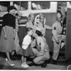 Detail 2 of 4, Army Reservists leave for camp, 1953