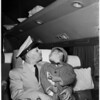 Korean War orphan arrives, 1953