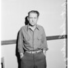 Arrested for impersonating Army Sergeant (Highland Park Jail), 1953