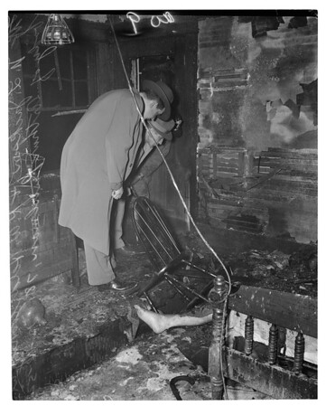 Detail 4 of 7, Fire in rest home at 1227 South Lake Street, 1952