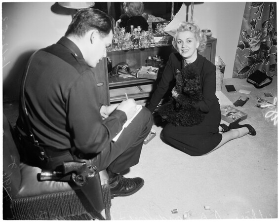 Hollywood jewel and fur robbery, 1953