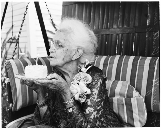 100-year-old birthday, 1953