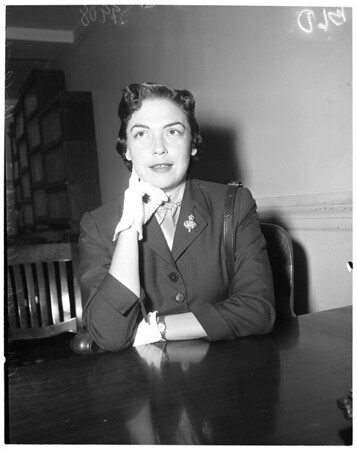John Wayne divorce, 1953